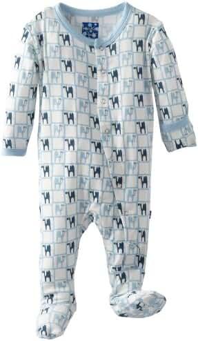 KicKee Pants Baby-Boys Printed Footed Coverall
