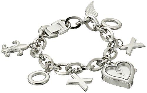XOXO Women's XO7028 Silver-Tone Charm Watch