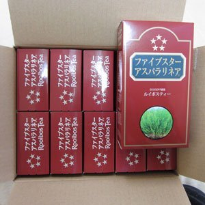Rooibos Five Star asparagus Linea ?10 box set ? by Rooibos