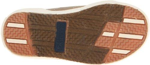 Sperry Halyard H&L Boat Shoe (Toddler/Little Kid),Khaki,9.5 M US Toddler