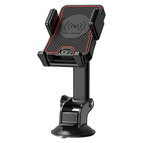 Wireless Charger Car Mount CellPhone Holder with Automatic I