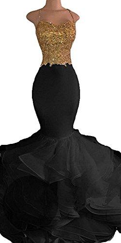black one strap bridesmaid dresses - 7