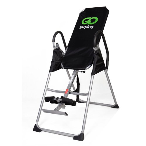 Goplus New Inversion Deluxe Fitness Chiropractic Table