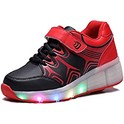 SDSPEED Roller Skate Shoes with Single Wheel Sport Sneaker