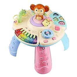 Mesa de aprendizaje musical para bebés de 6 a 12 meses
