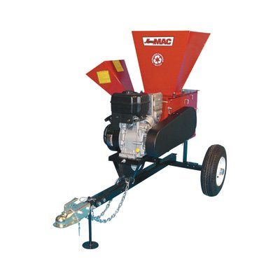 Merry Mac Highway-Towable Chipper/Shredder - 249cc Briggs & Stratton Intek OHV Engine, 3 1/2in. Capacity, Model# 12PHT1100M