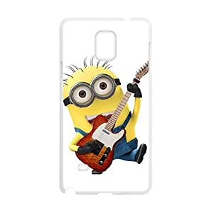 Bulk Price Novelty Cute Cartoon Despicable Me Minions Designer Plastic Case For Samsung Galaxy Note4 WANGJING JINDA