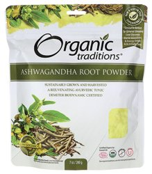 Органические Ashwagandha Root порошок 7 унций Pkg