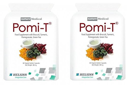 Pomi-T Polyphenol Food Supplement 60 Capsules (120 Capsules) by POMI-T
