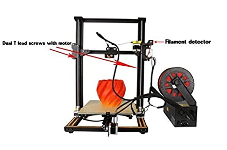 Creality 3D CR-10S 3D Printer (5S Touchscreen): Amazon.es ...