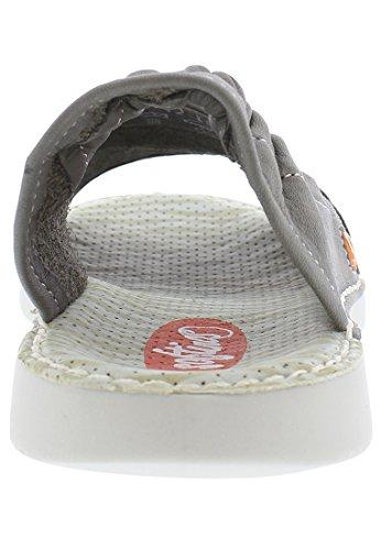 Softinos Damen Tee430sof Washed Sandalo Sandalo Beige (taupe)
