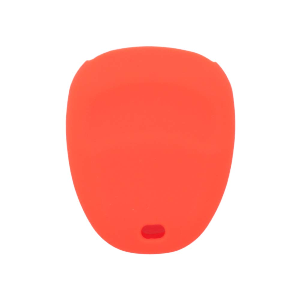 SEGADEN Silicone Cover Protector Case Skin Jacket fit for CHEVROLET BUICK CADILLAC PONTIAC OLDSMOBILE 4 Button Remote Key Fob CV4611 Deep Purple