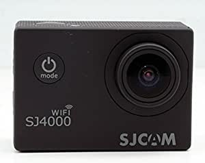 SJCAM SJ4000 WIFI - Cámara de Deporte para casco Impermeable, Video de Alta definición 1080p 720p, Color Negro