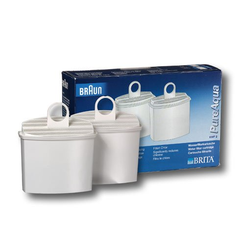 Price comparison product image Braun KWF2 Water Filter,  2 filters per package
