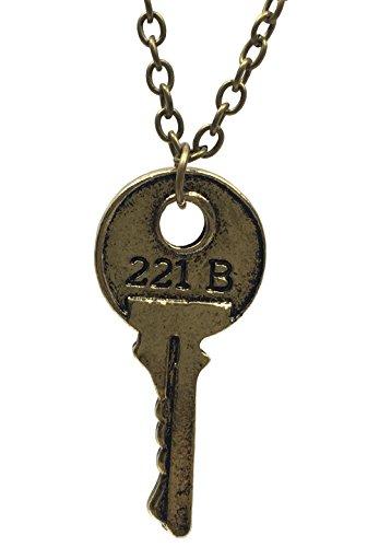 Sherlock Holmes Accessories (Sherlock Merchandise Gold Tone House Key)