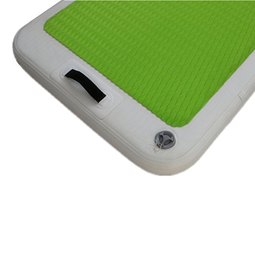 Inflatable Exercise Yoga Mat Water Mat for Fitness Balance Water Mat with Free Pump by Great river & hill (Image #3)