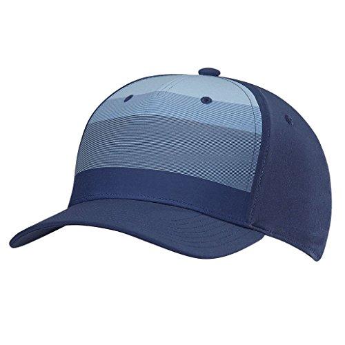 adidas Golf 2018 Mens Tour Stripe Stretch Fit Golf Cap Noble Indigo S/M