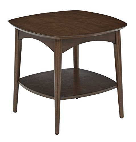 OSP Designs CPH17-WA-osp Copenhagen Accent Table, Walnut
