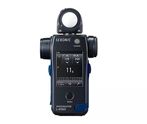 Sekonic L-858D SPEEDMASTER Digital Light Meter - Black/Blue (Camera Sekonic Digital Digital)