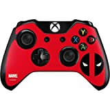 Marvel Deadpool Xbox One Controller Skin – Deadpool Logo Red Vinyl Decal Skin For Your Xbox One Controller