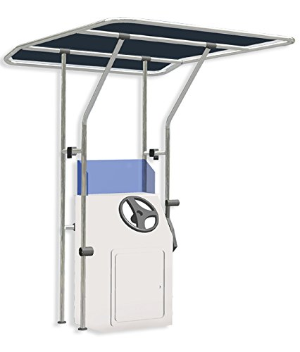 Oceansouth Boat T Top, Boat T-Top, Standard Center Console Boat T-Top,Aluminum Tube Small