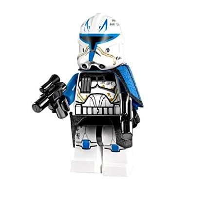 Amazoncom Lego Star Wars Clone Captain Rex Minifigure 2013 With