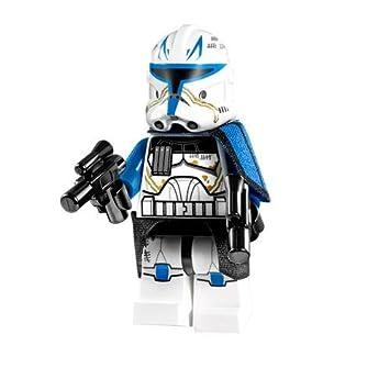 Amazon.com: Lego Star Wars Clone Captain Rex Minifigure (2013 ...