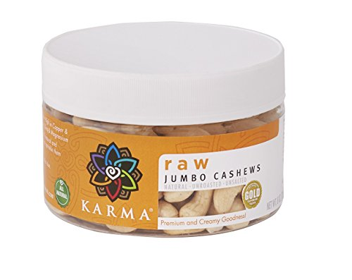 KARMA Premium Whole Cashews Unsalted product image