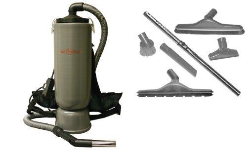 bagless backpack vacuum cleaner - 8