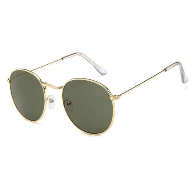 xinrongqu Gafas De Sol - Gafas Retro Redondas Gafas De Sol ...