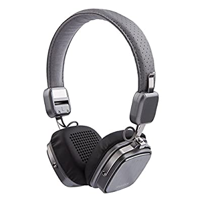 YourTech Audio Black L6 Bluetooth Headphones for Music streaming and hands free calling with extended talk & play time of 10 hours and standby time of up to 30 days, built-in mic, Superior sound quality and deep bass