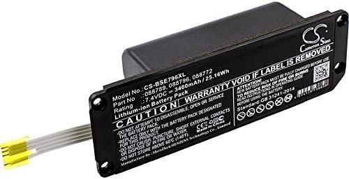 CS Akku Li-ion 3400mAh / 25.16Wh passend für Bose Soundlink Mini 2,ersetzt Bose 088772 088789 088796