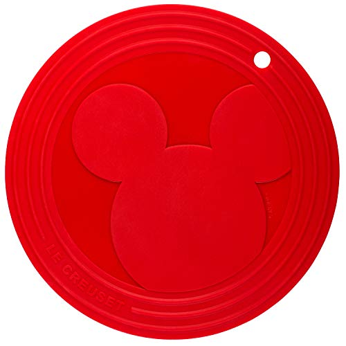 Le Creuset Mickey Mouse Cerise Silicone Trivet
