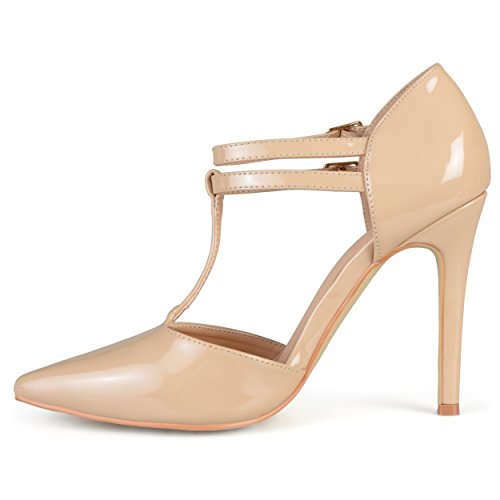 Pumps Collection T Classic Journee Classic T Womens Journee Womens Nude strap Collection RCHqvxq