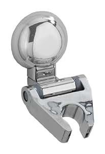 WENKO 20619100 Magic-Loc soporte ducha Fiorina - fijar sin taladrar, Plástico, 6 x 8 x 9 cm, Cromo