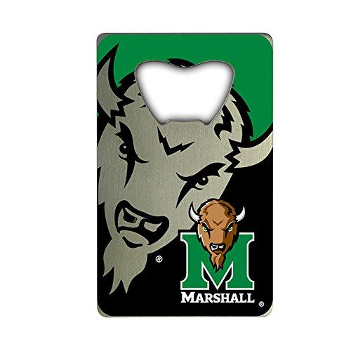 NCAA Marshall Thundering Herd Credit Card Style Bottle Opener (Marshall Thundering Herd Bottle)