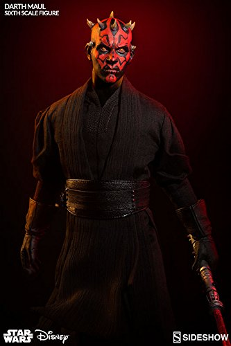 Sideshow Star Wars Episode I The Phantom Menace Darth Maul: Duel on Naboo 1/6 Scale Figure ()