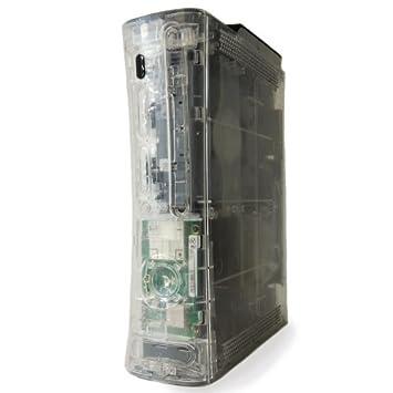 Ghost Case - Carcasa para Xbox 360 transparente: Amazon.es ...
