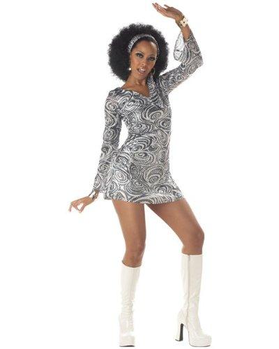 California Costumes Women's Disco Diva, As Shown, X-Large (12-14) (Disco Costumes For Women)