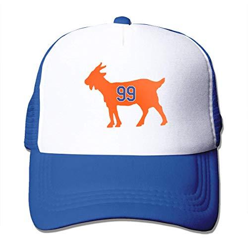- PATRICK THOMPSON Adjustable Baseball Cap Edmonton Gretzky Goat Cool Snapback Hats Blue