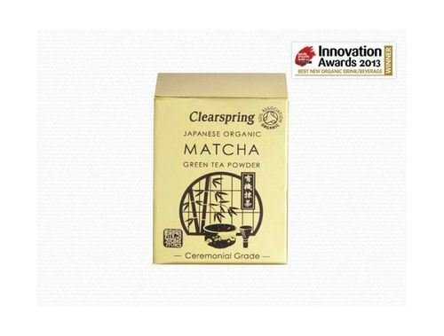 (8 PACK) - Clearspring Matcha Green Tea Powder (Ceremonial Grade)| 30 g |8 PACK - SUPER SAVER - SAVE MONEY by Clearspring (Image #1)