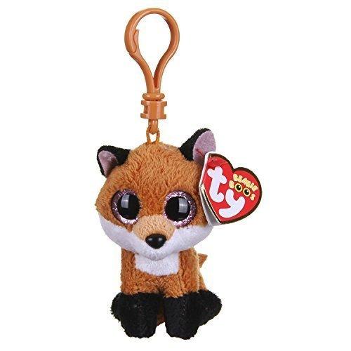 Ty - Beanie Boo - PELUCHE CON (Beanie Boo Medium Fox)