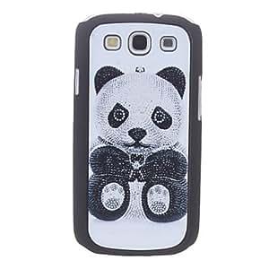 Panda Caso duro del patrón para Samsung Galaxy S3 I9300