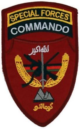 Parche de Velcro bordado táctico ejército Afganistán tsnk de fuerzas especiales militares: Amazon.es: Juguetes y juegos