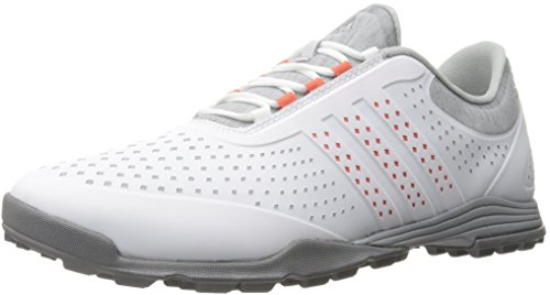 adidas Women's Adipure Sport Golf Shoe, Grey, 8.5 M US