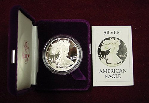 - 1986 S Silver Eagle Proof