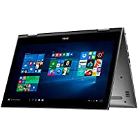 Dell Flagship High Performance Inspiron 15.6 Full HD 2-In-1 Touchscreen Laptop, Intel Core i7-6500U 2.5GHz, 8GB DDR4 RAM, 1TB HDD, Backlit Keyboard, 802.11ac WiFi, Windows 10, Gray