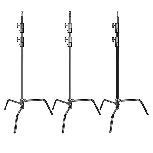 Neewer 3-pack Heavy Duty Aluminum Alloy C-Stand - Adjustable for sale  Delivered anywhere in USA