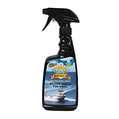 McKee's 37 Nautical One Mildew Shield for Vinyl | Prevents Mold & Mildew Growth on Boat Cushions: Automotive