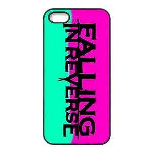 Masq Unique Custom TPU Rubber iPhone 5/5S Case Cover - Falling In Reverse
